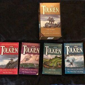 Vintage J.R.R. Tolkien Hobbit &Lord of the Rings